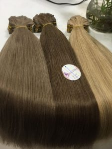 VIETNAMESE HAIR EXTENSION _TAPE HAIR 22 INCHES STRAIGHT