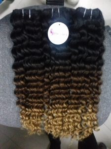 MACHINE WEFT HAIR 24 INCHES BODYWAVE, DEEP WAVY