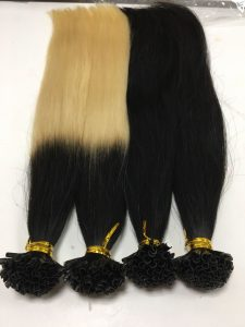 Vietnam hair U Tips straight ombre 1/60