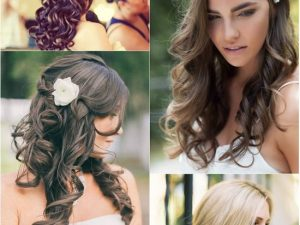 Charming Curly Hair Extensions In Your Wedding