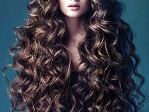 Longest curly hairstyle for girls