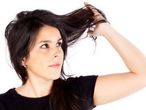 Signs of damage hair