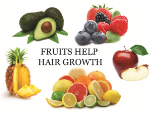 The Fruts help hair growth