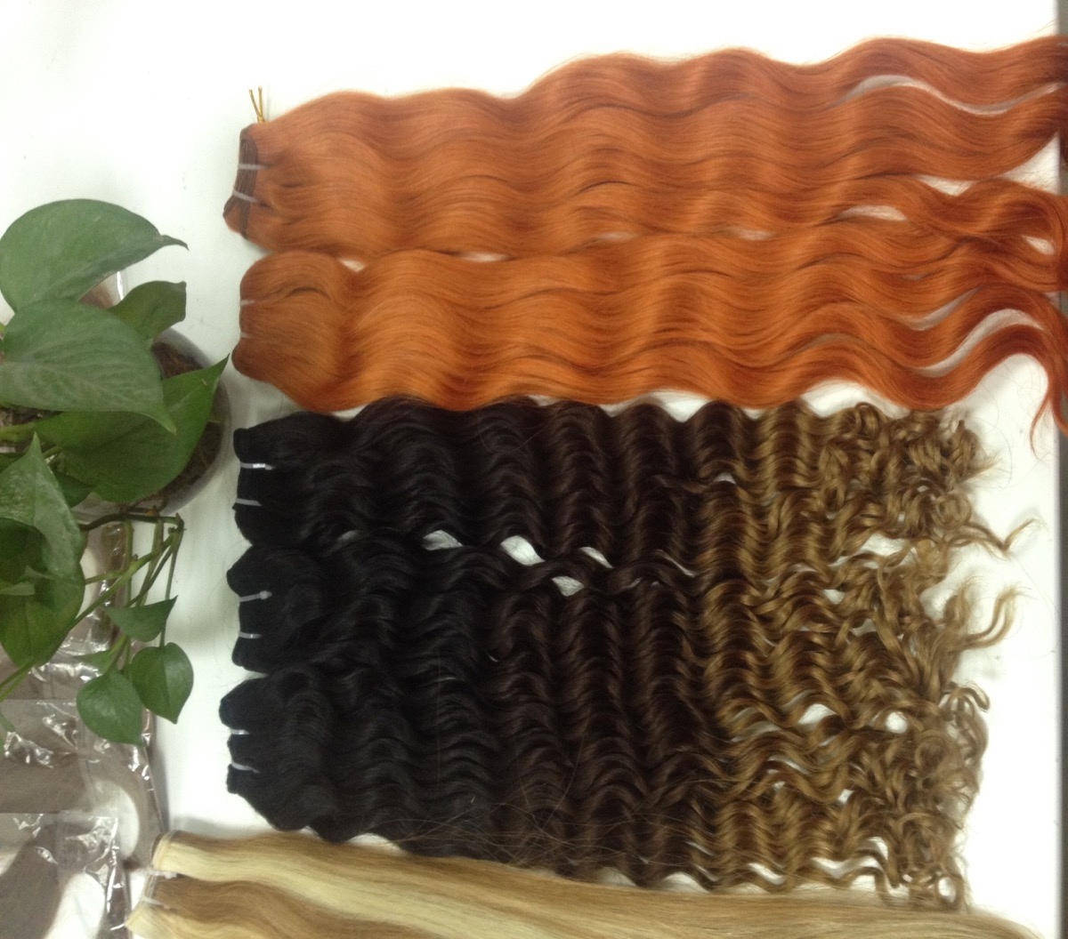 Vietnam Hair Machine Weft Body Wavy Various Color
